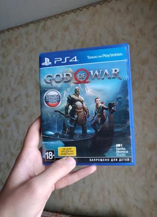 Диск для Playstation 4. God of war.