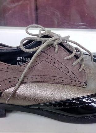 Стильные туфли-оксфорды redherring.