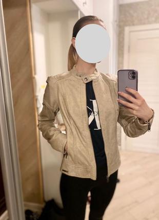 Куртка кожаная Guess Jeans