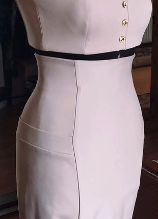 Топ и юбка с утягивающем эффектом