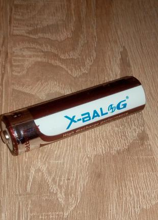 Аккумуляторная батарея Li-Ion X-BALOG 14500 5800mAh 4.2V R6 AA
