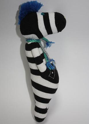 """Интерьерная игрушка-подвеска """"зебра"""""""