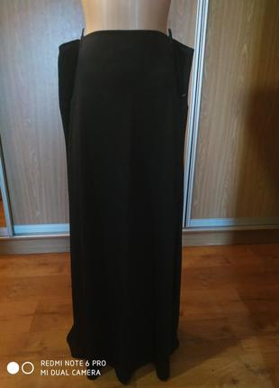 Классная, трикотажная длинная юбка ,большой размер