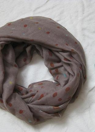 Снуд/хомут (шарф) на теплую погоду