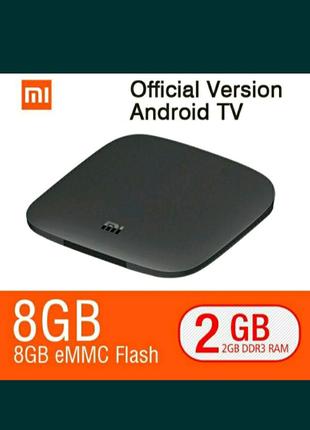 Xiaomi mi box 3  2/8 gb крутая АТV приставка.