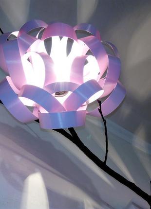 Эксклюзивный светильник ручной работы Цветущий сад