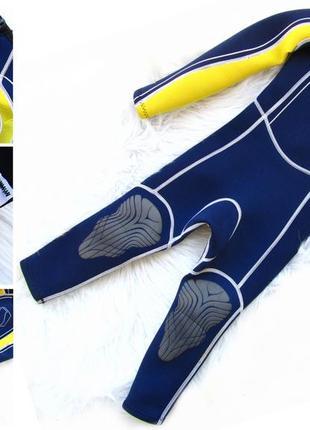 Детский длинный костюм гидрокостюм костюм для дайвинга swarm