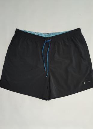 Seaside черные спортивные пляжные шорты