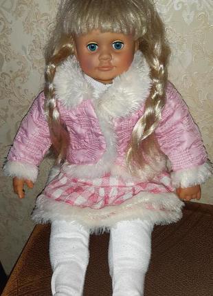 Кукла Пупс Ангелина интерактивная 60 см (Ксюша Ласкина)