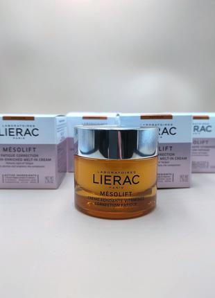 LIERAC MESOLIFT витаминный крем корректирующий признаки усталости