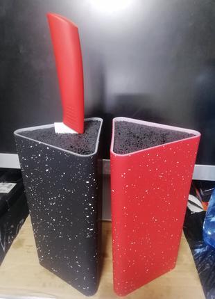 Подставка для ножей с наполнителем 22 см