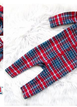 Качественный и стильный человечек пижама lupilu