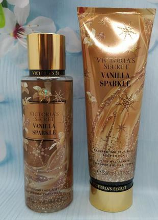 Набор victoria´s secret vanilla sparkle