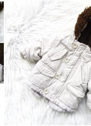 Стильная теплая куртка парка с капюшоном cherokee