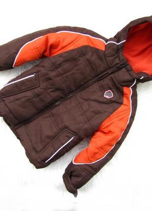 Стильная теплая куртка с капюшоном protection system