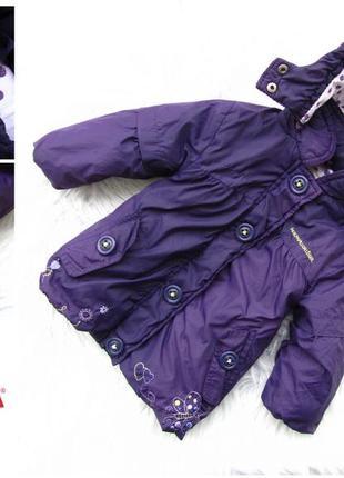 Стильная теплая куртка с капюшоном orchestra