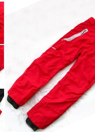 Стильные и крутые зимние лыжные  штаны брюки полукомбинезон ox...