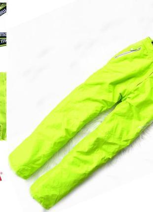 Стильные и крутые зимние лыжные  штаны брюки полукомбинезон or...