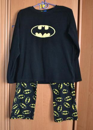 Раздельная пижама на мальчика 12-13 лет, пижама бетмен