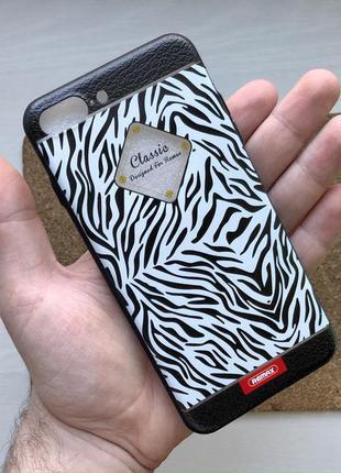 Чехол противоударный черный белый на для айфон iphone 8 + плюс...