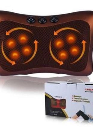 Массажная подушка (8 роликов + 3 магнита) с ИК-прогревом
