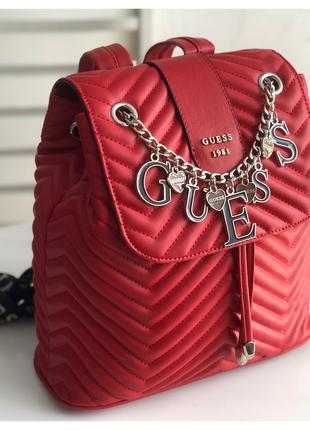 Рюкзак Guess красный