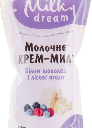 """Жидкое мыло """"Белый шоколад и лесные ягоды"""" (дой-пак) Milky Dream"""