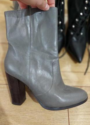 Ботинки F&F, классные, серые