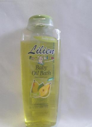 Детское масло-пена для ванной(груша).