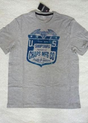 Мужская  футболка chaps оригинал р m