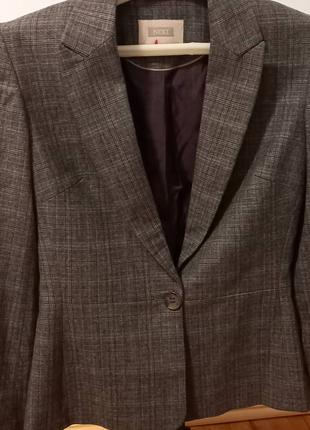Шерстяной пиджак/жакет NEXT
