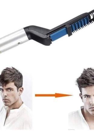 Выпрямитель для бороды и волос Beard Straightener 2047