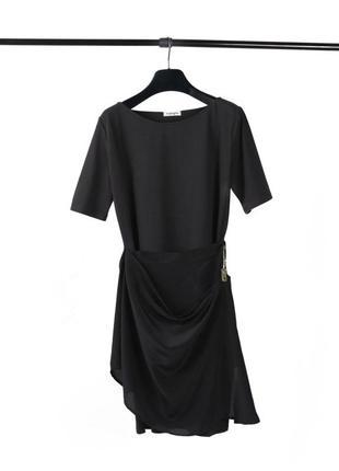 Платье с шелковой драпировкой kangra (48/l) italy