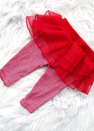 Стильные и крутые лосины  штаны брюки с юбкой пачкой carter's