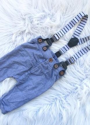 Стильные и крутые штаны брюки с подтяжками next