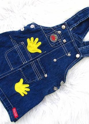 Стильный джинсовый сарафан fisher price