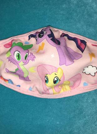Маска с my little pony