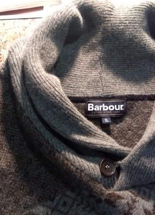 Продам отличный свитер из шерсти ламы Barbour