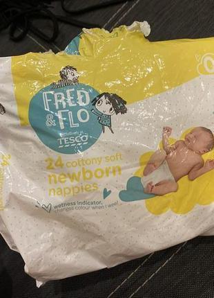 Подгузники для новорождённых. размер 0.
