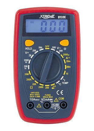 Цифровий мультиметр Xreme DT33C (Польща)