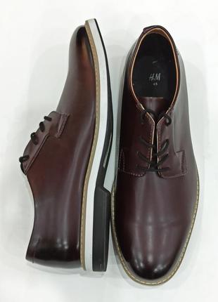 Мужские туфли от h&m.