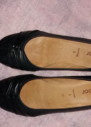 Туфли балетки натуральная кожа 40 р Gabor
