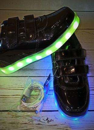 Кроссовки детские с LED подсветкой