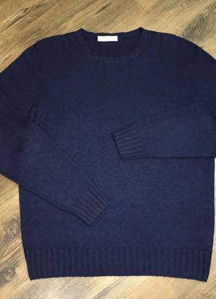 Шикарный мужской свитер кашемир шёлк cashmire e seta