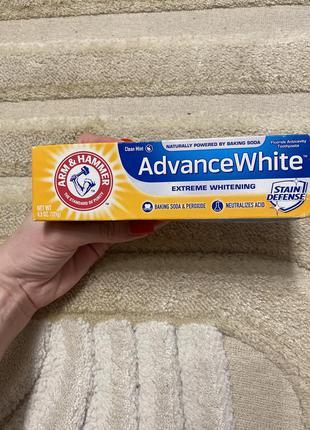 Зубная паста arm &hammer advance white
