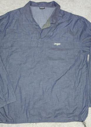 Ddp анорак джинсовая куртка ветровка мужская