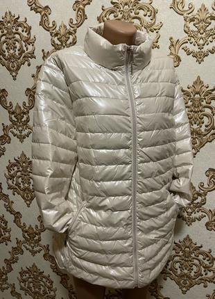 Женская стёганная куртка)демисезон)размер 50;52;54;56