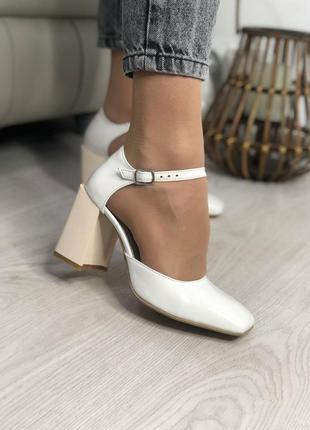 Туфли женские босоножки натуральная кожа