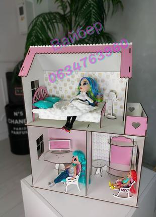 Мини домик для кукол барби,кукольный домик для лол omg,мебель ...