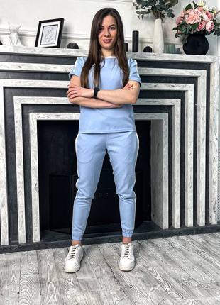 Комплект ASOS штаны + футболка с лампасами 2021